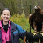 Me and Orla the Golden Eagle