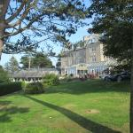 The Golf View Hotel has a superb setting on the promenade at Nairn
