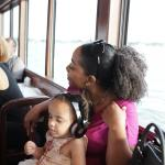 NIECE WITH AUNTIE ON THE STAR CRUISER
