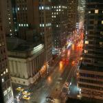 Night view down 6th Avenue
