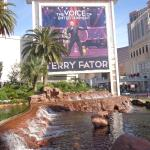 Terry fator sign outside Mirage