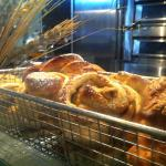 Fresh baked bread on site