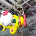 Breathtaking view of the Macy's Thanksgiving Day Parade right outside our hotel window.