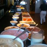 Another part of the breakfast buffet