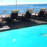 The pool at the sun-deck