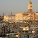 The Riva degli Schiavone just after dawn:   just a ten-minute walk from the hotel
