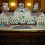 Williamsburg Inn as a gingerbread house