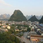 Yangshuo Park from the top 6