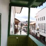 view from Pieter room overlooking Calle Meloc