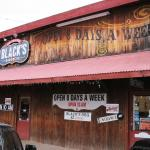 Black's family owned barbeque in Lockhart, TX