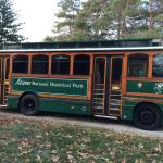Adams National Historic Park trolley