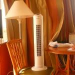This was the fan we had to insist be delivered to our room because the air conditioner didn't wo
