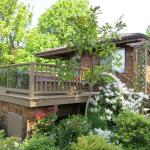 some guests say the cottage is like a treehouse
