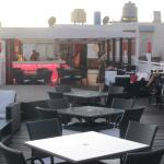 Rooftop bar and terrace