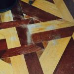 Marks on the floor