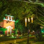 hacienda by night