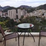 The balcony and view from Gavea Room
