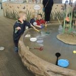 Water Play area in Playscape