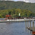 Steamer at Bowness