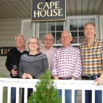 Family reunion at Cape House