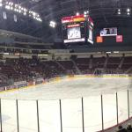 Panoramic view of Giant Center, there isn't a bad seat in the house