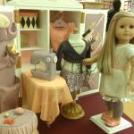 A sewing room for AG dolls.