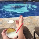 Ahhhh - Cocktails by the pool :)