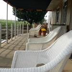 Relaxing deck