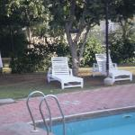 A very clean & well maintained swimming pool.