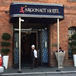 Entrance of Argonaut Hotel