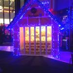 Hotel exterior by night - Christmas decoration