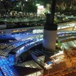 Night View of the Nankai station/ Namba City from an Executive Room
