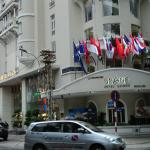 Grand Hotel Saigon street view