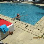 We liked this pool area