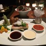 Red snapper grilled fish