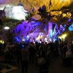 live performance in cave