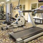 Work out the stress of the day in our Fitness Room....