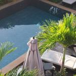 Pool area from 2nd floor balcony