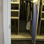Closet (with safe, iron, and ironing board)