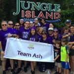 team Ash at jungle island