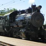 Locomotive in use