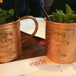 Moscow Mules at Earls Kitchen