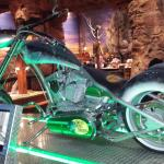 OCC Bass Pro Shops bike on display