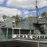 HMAS DIAMENTINA - last of the WW2 Frigates (Maritime Museum)