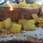 French toast with pineapples