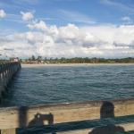 Looking back at Sharkey's from the fishing pier