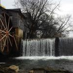 Falls by Old Mill Square