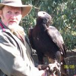 Dave with Wedgetail Eagle