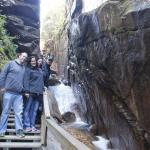 Flume Gorge with our friends