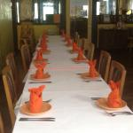 Accommodating large parties!